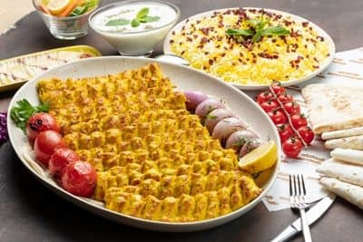 Chicken Kubideh Family Platter 1KG (12 skewers) image