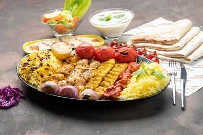 Mixed Chicken Family Platter 500gms (6 skewers) image