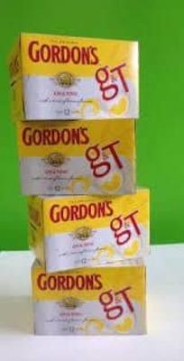 Buy 2 Gordons Gin & Tonic 7% 12x250ml image