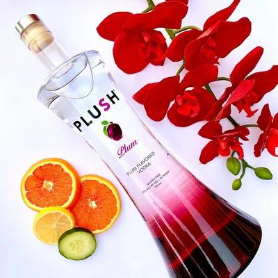 PLUSH Vodka   PLUM 750ml image
