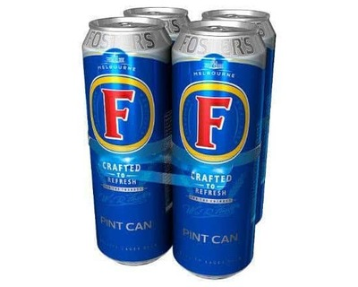 Fosters 4 X 568ml image