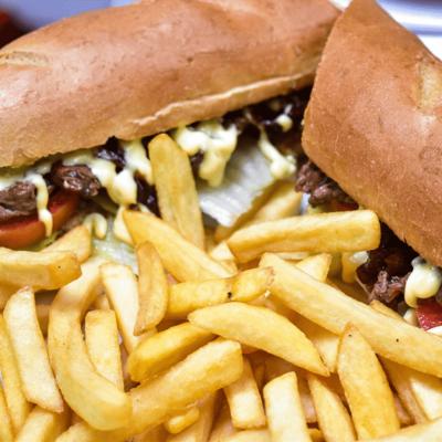 Grilled Steak Sandwich  ~ 40 Min image