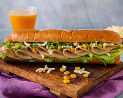 Turkey and Cheese Sandwich image