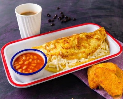 French Omelette Sandwich image