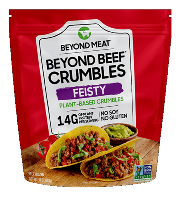 Beyond Meat Feisty Beef Crumbles image