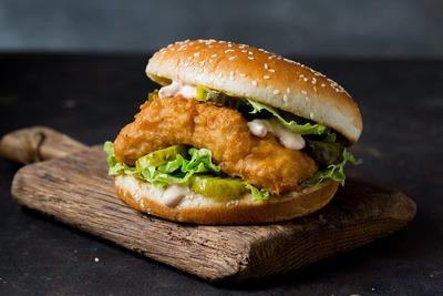 Tempura Fish Burger image