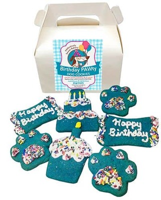 Birthday Cookies, Blue image