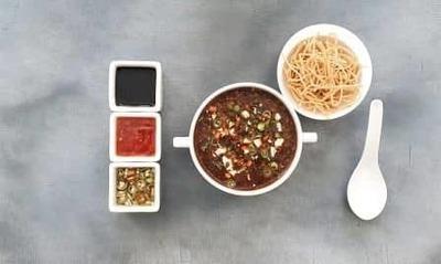 Vegetable Manchow Soup image