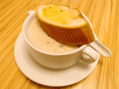 Creamy Mushroom Soup image