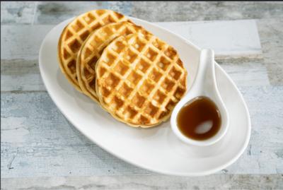 Freshly-made Waffles image