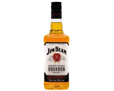 Jim Beam White Label Kentucky Straight Bourbon Whiskey Bourbon New Zealand Bottle 700ml 40%VOL. image