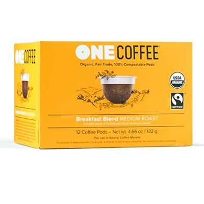 Onecoffee Pods Breakfast Blend Org 12'S image