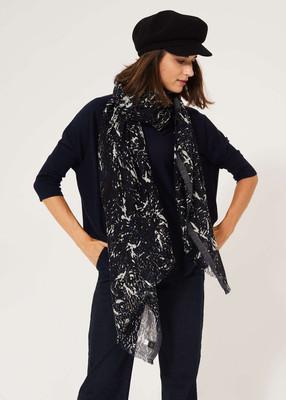 Merino wool tunic - Navy image