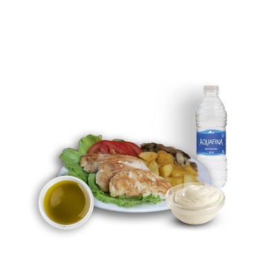 Combo 16 - Grilled Chicken Meal image