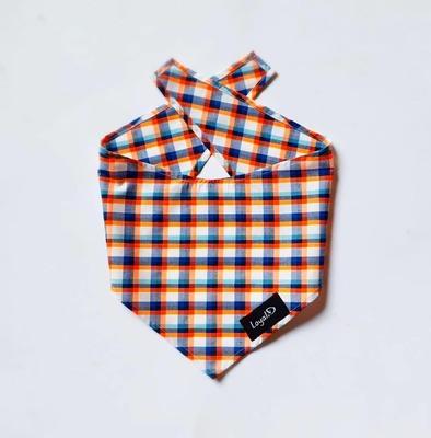 Bandana.D - Orange Plaid image