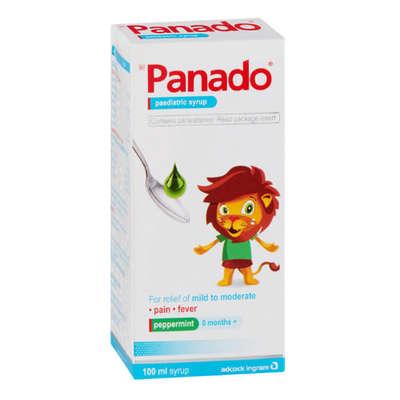 Panado, Children, Peppermint,  100ml image