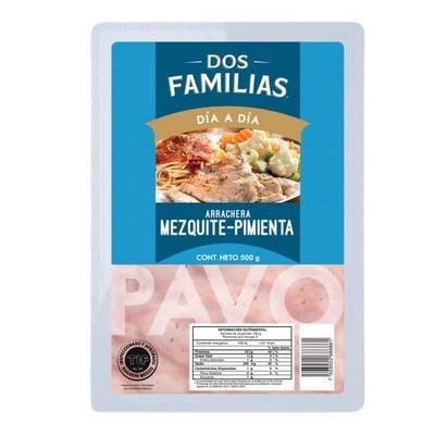 Arrachera de Pavo Mezquite Pimienta 500 gr image