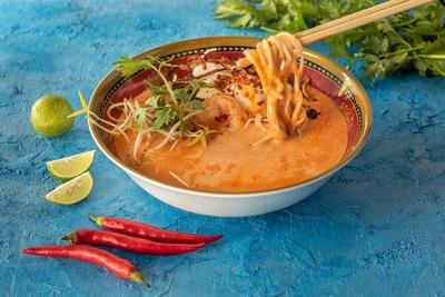Singaporean Laksa Soup  image