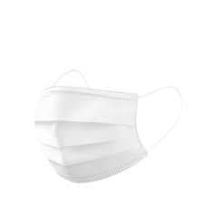 White 3 Ply Surgical Masks image