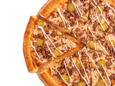 Shawarma Pizza image