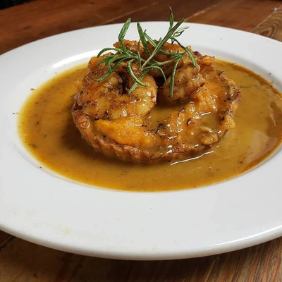 BBQ Shrimp Pie image