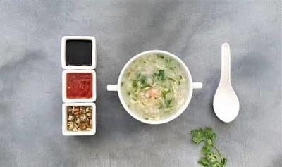 Prawn Coriander Soup image