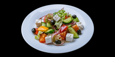 Feta Greek Salad image