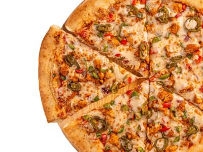 Spicy Chicken Fajita Pizza image