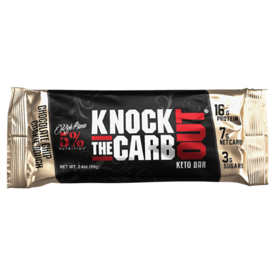 KNOCK THE CARB OUT - INDIVIDUAL BARS 68g - 3 Flavours image