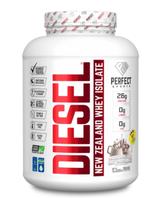 DIESEL NEW ZEALAND WHEY PROTEIN ISOLATE 5lbs (2.27kg) - 6 Flavours image
