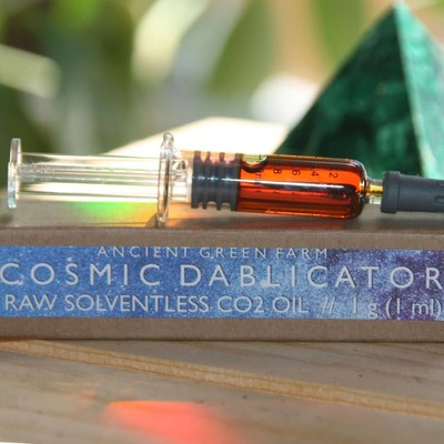 1g Dab Applicator w/ raw unfiltered Co2 oil image