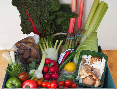 LARGE SEASONAL VEGETABLE BOX image