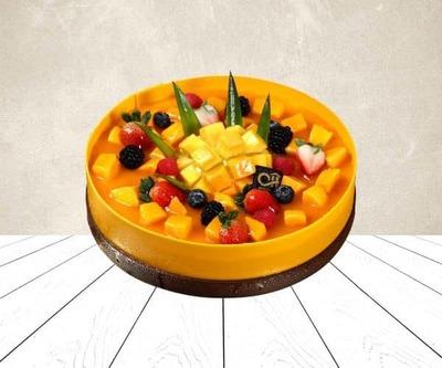 Mango cake image