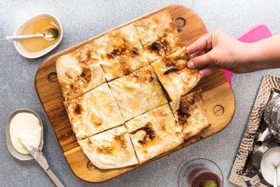 Kraft Cheese and Honey Fateer image