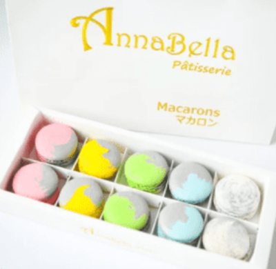 10pcs Marvellous Macarons (Marvellous 1) in Gift Box and Paper Bag image
