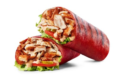 Spicy Chicken Wrap image