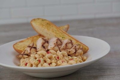 Twisted Mac and Cheese with Chicken  image