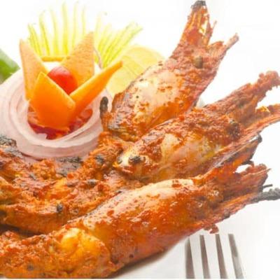 Mixed fish tandoori image