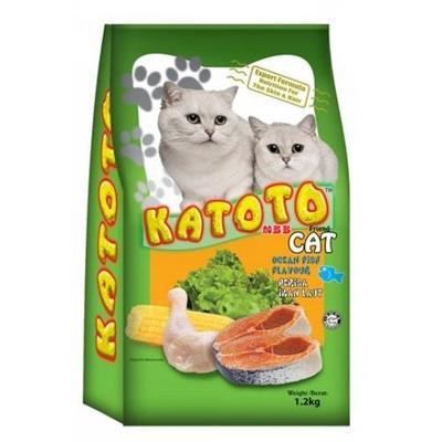 Katoto Cat Dry Food Ocean Fish 1.2kg image