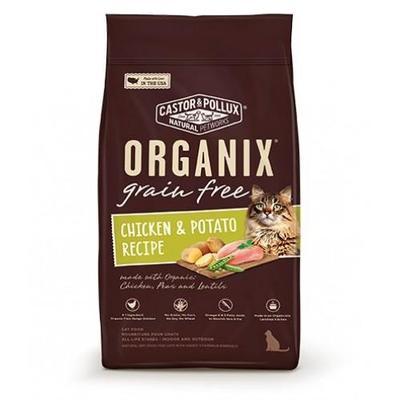 Organix Grain Free Organic - Healthy Adult Indoor Cat Food 4lb image