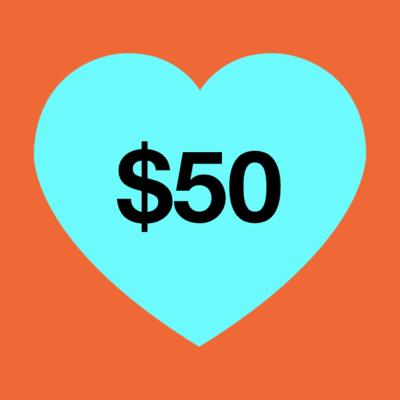 $50 Donation image
