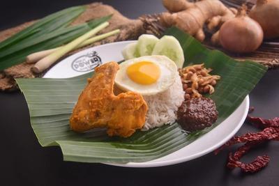 Nasi Lemak Chicken Set image
