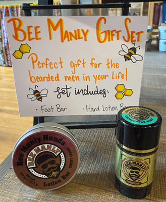 Bee Manly Gift Set image