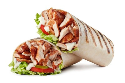 Rotisserie Chicken Wrap image