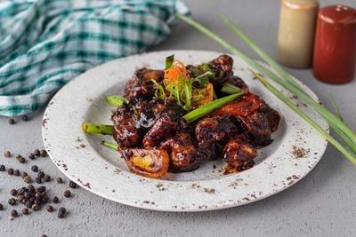 Black Pepper Chicken (spicy) image