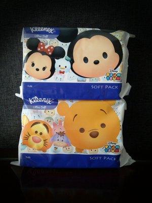 Kleenex Tsum Tsum 3 Ply 4 x 50s image