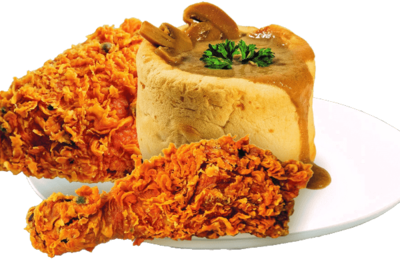 M1 Breadbowl Mushroom Soup X1 & Peppercorn Chicken X 1PC image