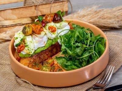Smashed Avocado & Egg Toast image