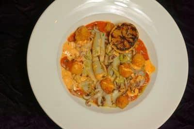 Grilled Calamari Puttanesca image