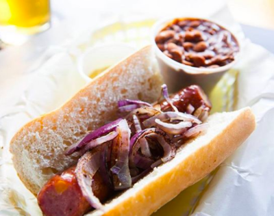 BBQ Hot Link sandwich image